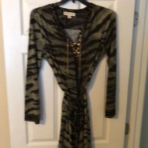 MICHAEL KORS animal print dress